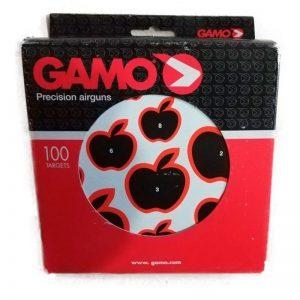 Caja con 100 Dianas varias figuras Gamo