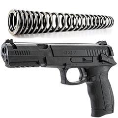 pistola de resorte